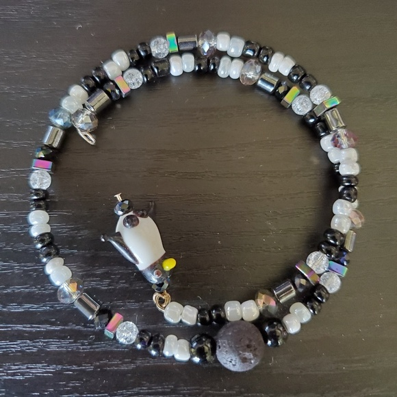 Handcrafted Jewelry - Glass, Crystal and Gemstone Bracelet